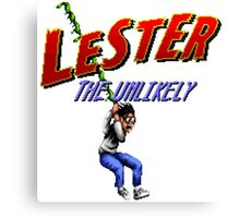 Lester the Unlikely Canvas Print