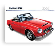 Datsun 2000 Fairlady vintage cars Canvas Print