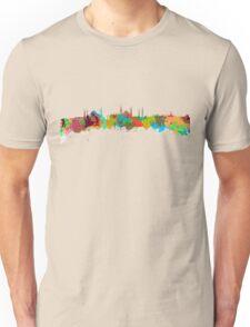 Istanbul Watercolor Skyline  Unisex T-Shirt
