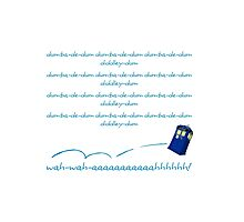 Doctor Who Theme Photographic Print