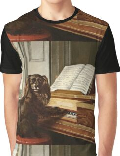 Philip Reinagle - Portrait Of An Extraordinary Musical Dog  Graphic T-Shirt