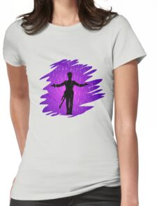 Purple Rain - Prince  Womens Fitted T-Shirt
