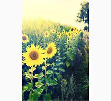 sunflowers at the cornfield Unisex T-Shirt