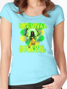 Carnival Brazil Women's Fitted Scoop T-Shirt