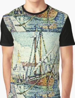 Paul Signac - The Port Of St  Tropez  Graphic T-Shirt