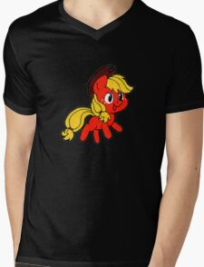 Little AJ Mens V-Neck T-Shirt