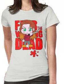 Cute Alicia Clark Womens Fitted T-Shirt