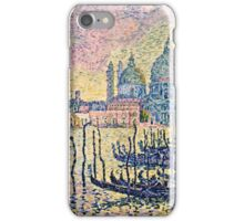 Paul Signac - Entrance To The Grand Canal, Venice  iPhone Case/Skin