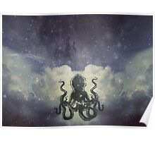 Flying Octopus  Poster