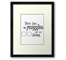 Muggles Framed Print