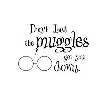 Muggles Photographic Print