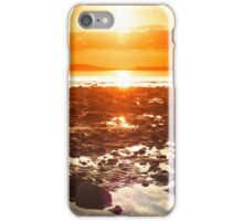 reflections at rocky beal beach iPhone Case/Skin