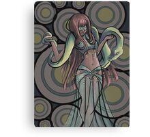 Snake Dancer Canvas Print
