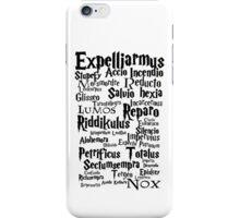 Spells iPhone Case/Skin