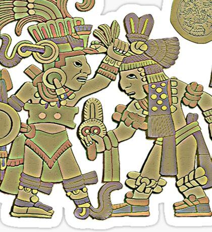 Aztec Carved Sticker