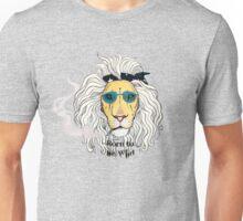 León Rockero (Born to be wild). Unisex T-Shirt