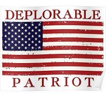 Deplorable Patriot Poster