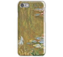 Claude Monet - The Water Lily Pond,  1917 19 ( 1917 19)  iPhone Case/Skin