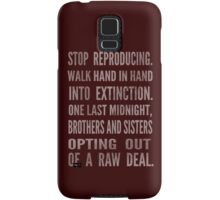 Rust Cohle - EXTINCTION - True Detective Samsung Galaxy Case/Skin