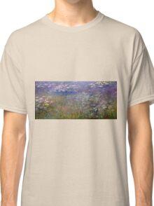 Claude Monet - Water Lilies (1915 - 1926)  Classic T-Shirt