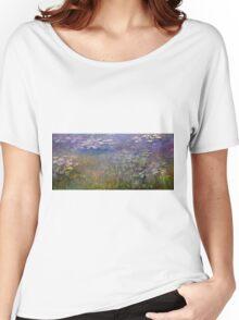 Claude Monet - Water Lilies (1915 - 1926)  Women's Relaxed Fit T-Shirt