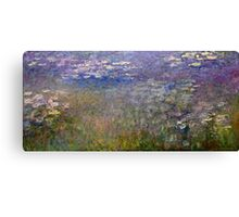 Claude Monet - Water Lilies (1915 - 1926)  Canvas Print