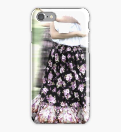 Dancing of Flowers  iPhone Case/Skin