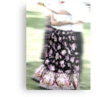 Dancing of Flowers  Metal Print