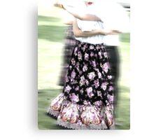Dancing of Flowers  Canvas Print