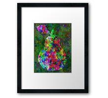 Complex Pear Framed Print