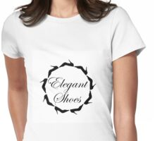 Elegant shoes  Womens Fitted T-Shirt