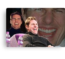 Tom Cruise Laughing Meme Canvas Print