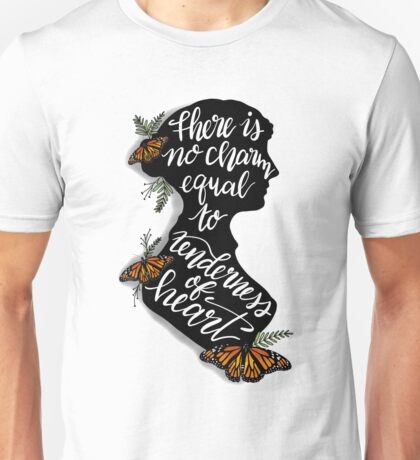 Jane Austen Literary Quote Unisex T-Shirt