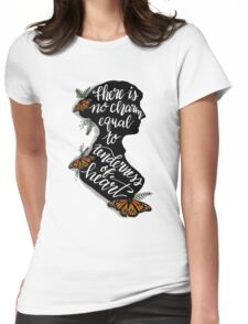 Jane Austen Literary Quote Womens Fitted T-Shirt