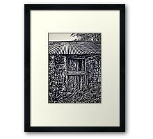 Old Cottage Letterfearn Scottish Highlands Framed Print