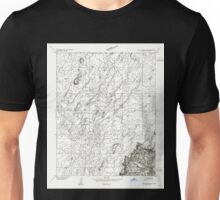 USGS TOPO Map Arizona AZ Paria Plateau SE 312777 1954 24000 Unisex T-Shirt