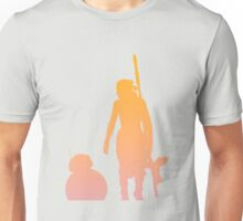 Star Wars - Rey and BB-8 Unisex T-Shirt