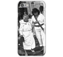 Helping the Granny iPhone Case/Skin