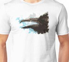 Grunge Raven Unisex T-Shirt