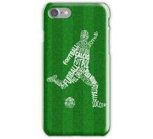 Soccer Football Languages Typography iPhone Case/Skin