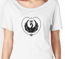 Swan Queen Crest Women's Relaxed Fit T-Shirt
