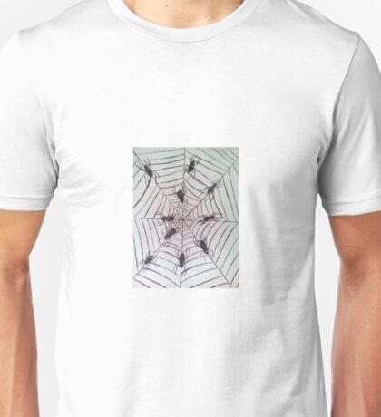 Spider web pattern Unisex T-Shirt