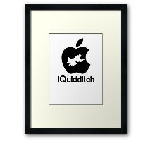 iQuidditch Framed Print