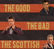 The Good, The Bad and the Scottish - Doctor Who by ShockRate