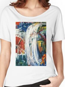 Franz Marc - The Bewitched Mill (1913)  Women's Relaxed Fit T-Shirt