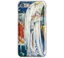 Franz Marc - The Bewitched Mill (1913)  iPhone Case/Skin