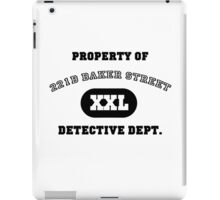 Property of 221B Baker Street - Detective Dept. iPad Case/Skin