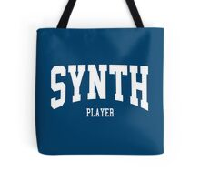 Synth Player Tote Bag