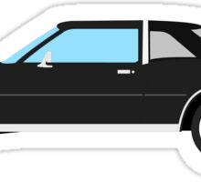1977-1978 Dodge Diplomat - black Sticker