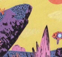 Alien Planet Sticker